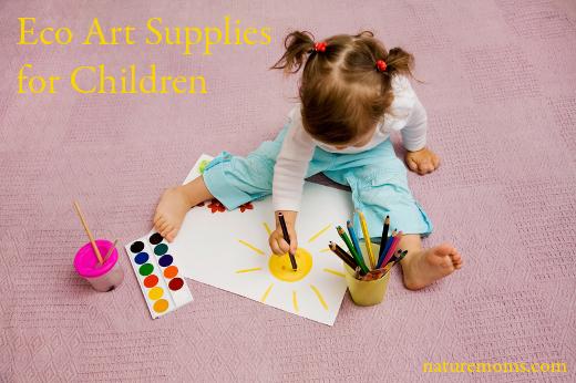Eco Art Supplies for Children
