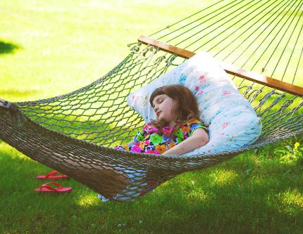 Sleeping in the Hammock