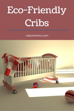 Modern Green And Sustainable Cribs For The Nursery