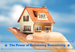 The Power of Reclaiming Domesticity