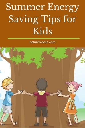 Summer Energy Saving Tips for Kids