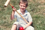 Playing Croquet and Making Summer Fun Memories