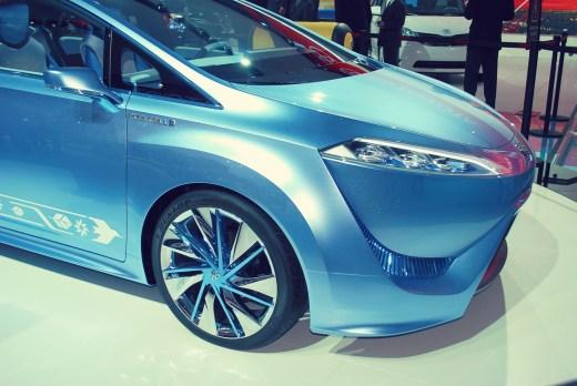 Toyota hydrogen fuel-cell car