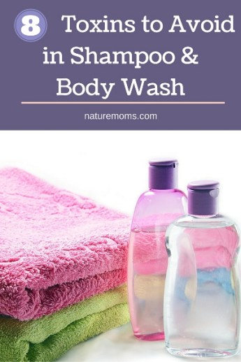 8 Toxins to Avoid in Shampoo and Body Wash pin