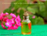 Choosing Calm with Geranium Essential Oil