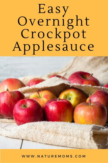 Overnight Crockpot Applesauce