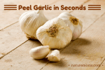 Peeling Garlic  in Seconds  –  It Really Works!