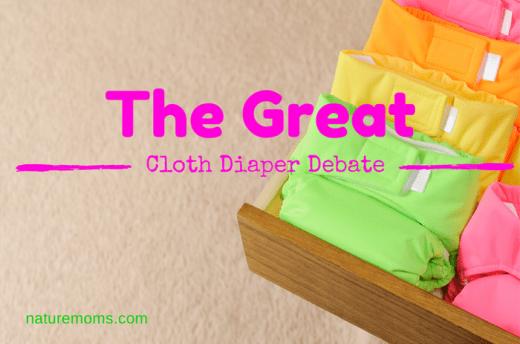 The Great Cloth Diaper Debate