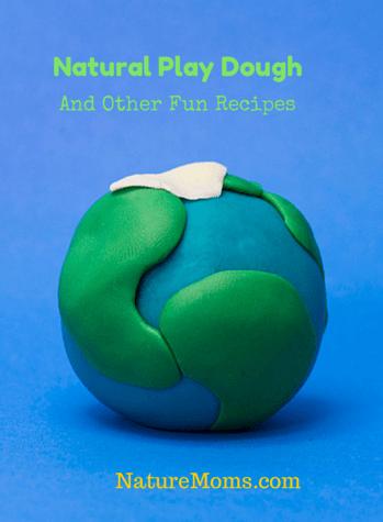 Natural Play Dough Recipes - naturemoms.com