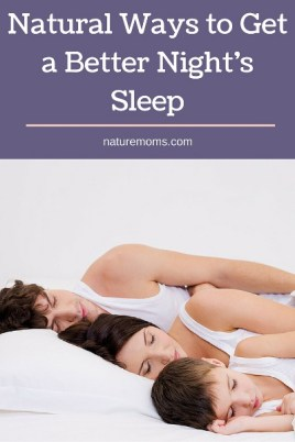 Natural Ways to Get a Better Nights Sleep