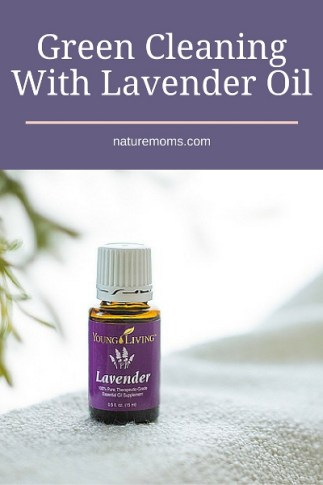 cleaning with lavender