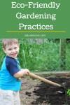 Eco-Friendly Gardening Practices