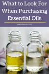 What to Look For When Purchasing Essential Oils