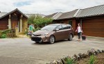 Driving the Toyota Prius v