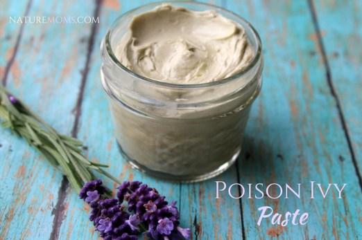 DIY poison ivy paste