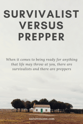 Survivalist versus Prepper