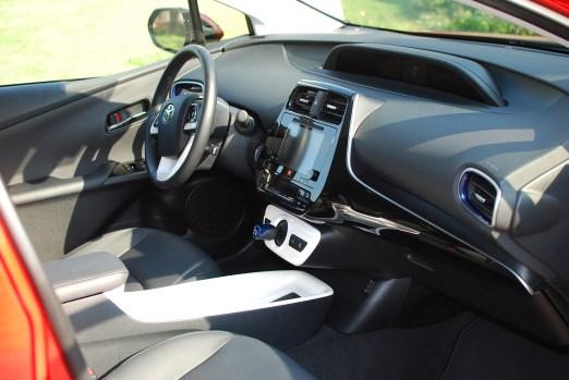 Toyota Prius Four Touring Interior