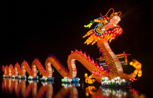 chinese dragon festival in china