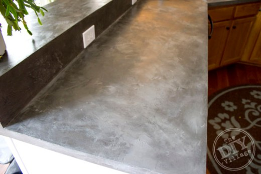 concrete counter diy
