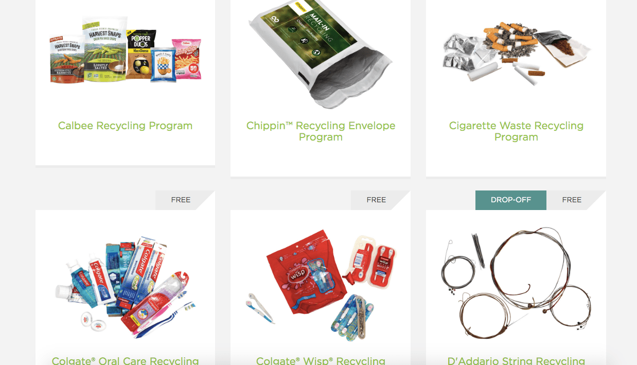 TerraCycle® recycling brigades examples