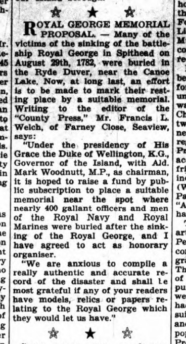 Extract from Isle of Wight County Press, 14.11.1964 p10