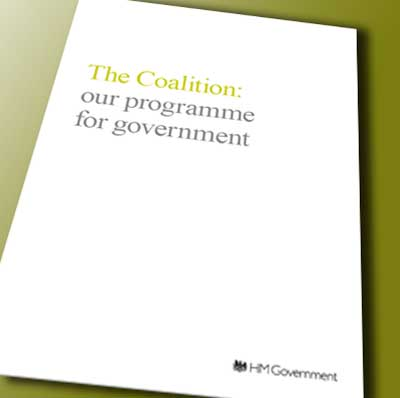 The coalition programme