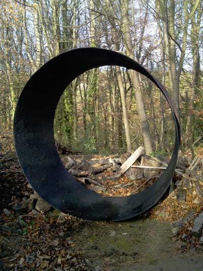 Artefact at Knighton East Wood