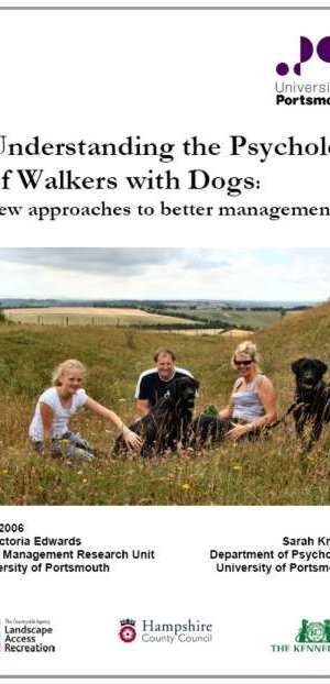 Understanding the Psychology of Walkers with Dogs