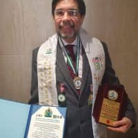 Prof.Dr. h.c. Sir Luis Emilio Abad, Argentine Ophthalmologist, considered among the best in the World in the areas of Retina Research and Ophthalmic Teaching