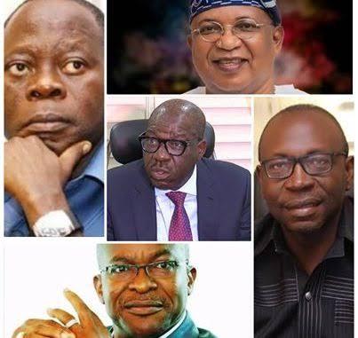 EDO 2020: ELECTION LIKE NO OTHER AS OBASEKI, IZE-IYAMU, ODUBU, OGIEMWONYI AND AIRHIAVBERE LOCKED EDO' S FATE