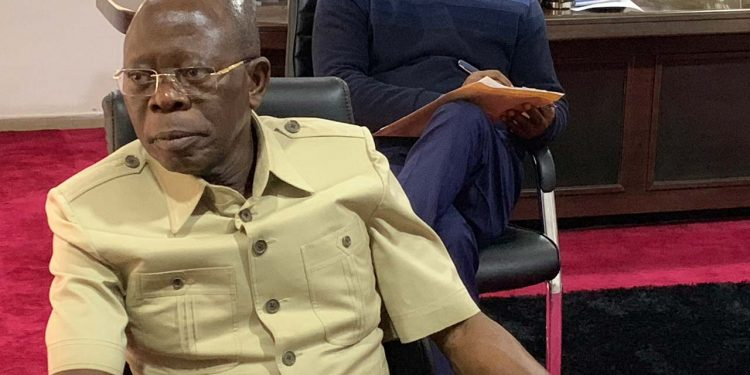 """When you want to embark on radical results, you are going to step on toes"" – Oshiomhole speaks as he finally surrenders"