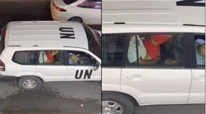 Video of sex in UN official car deeply disturbing – Official (Video)