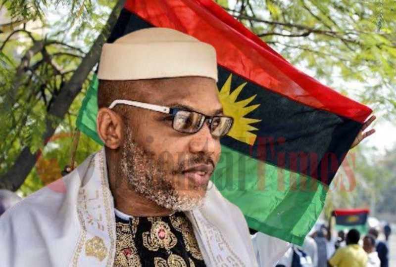 Nnamdi Kanu reveals why Nigeria could not be as a nation