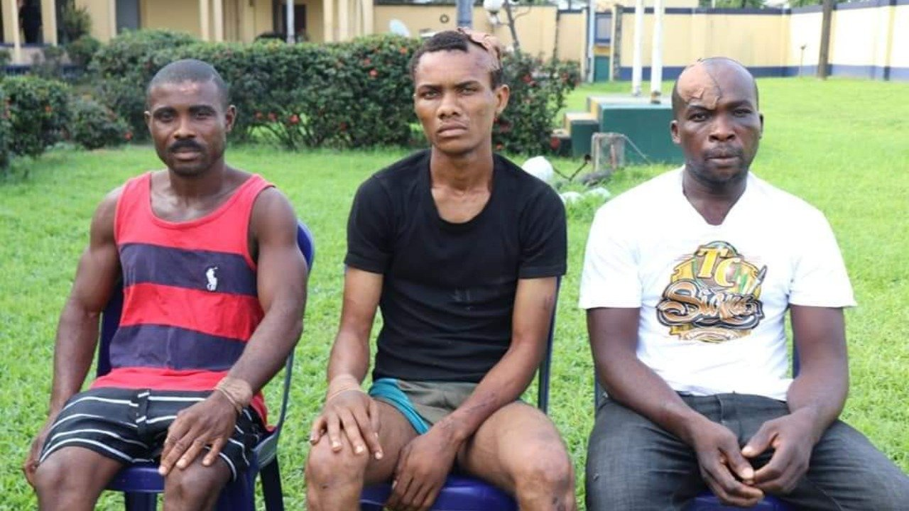 3 suspects claims to be an IPOB members, give reasons for allegedly bombing Wike father's church
