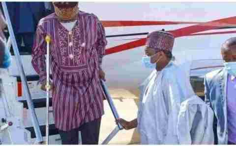 Rotimi Amaechi reveals why he uses crutches