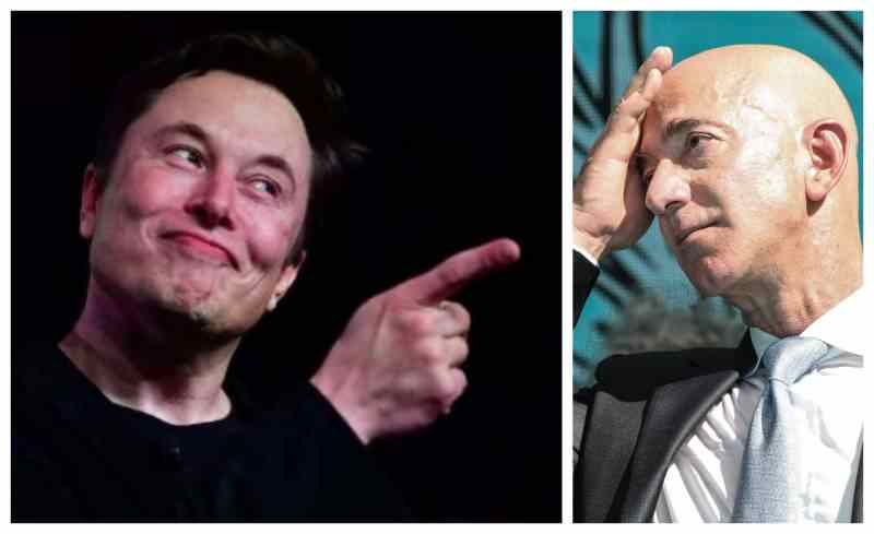 Elon Musk Is Now The Richest Person On Earth, Officially beats Jeff Bezos
