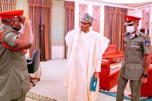 Buhari Bids Goodbye To Abubakar As Dodo Resumes As New Aide-de-Camp