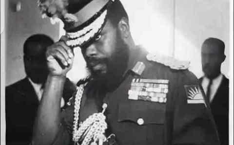 Foreign mercenary that wanted to slap Ojukwu during Biafra war