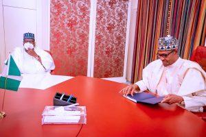Insecurity: Details Of Meeting Between President Buhari And Senate President Lawan Emerges