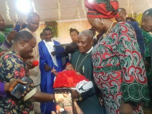 Nigerian Pastor And Wife Welcome First Child After 25 Years Of Marriage – [Photos]