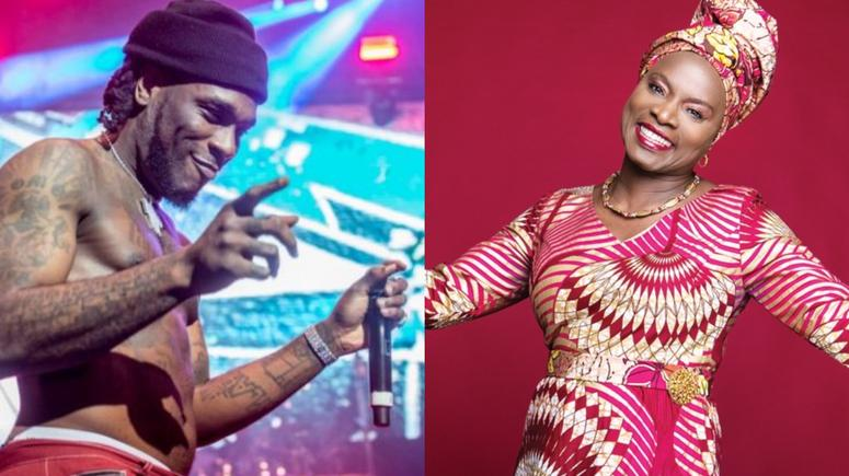 See Difference Between Burner Boy's Award And Angelique Kidjo's Award
