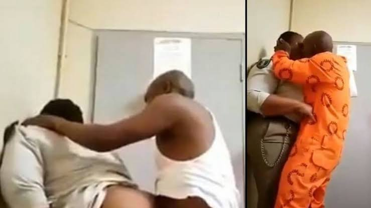 Prison Inmate Caught Chopping Female Warder In Office (18+ Photos)
