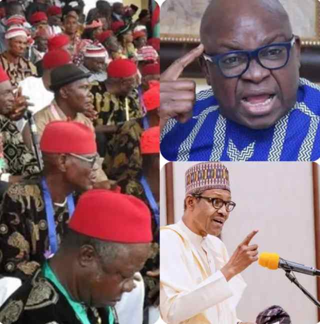 """""""Nobody can tell me that Igbo people are not being marginalized"""" – Ayodele Fayose"""