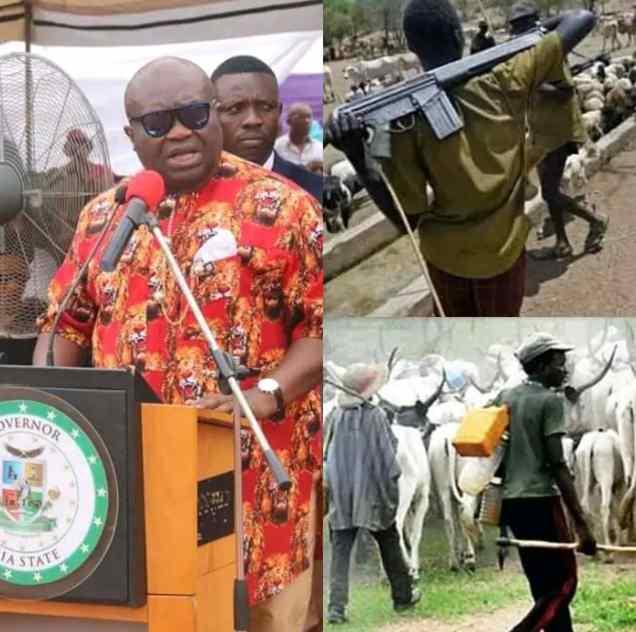 Governor Ikpeazu Reveals Real Invaders In Nigeria, Not Fulani Herdsmen