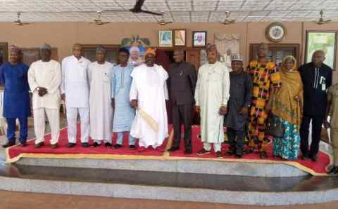 Presidential Visitation Panel: Olofa Of Offa Expressed The Cordial Relationship Of Host Community And Fedpoffa