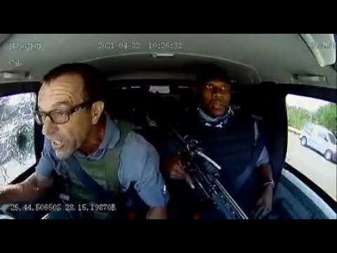 Video: Armed robbers attempt heist, rain bullets on cash van in South Africa