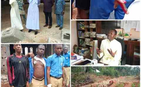 Bubendorff: Hoodlums attacks School in Anambra state, destroy building