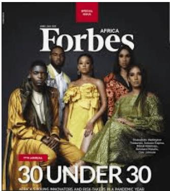 Forbes Africa 30 Under 30 list: Nigerian PR Expert Bello Timilehin makes list.