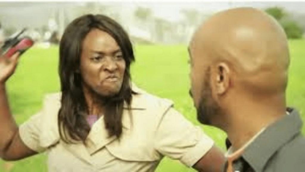 woman abuse man