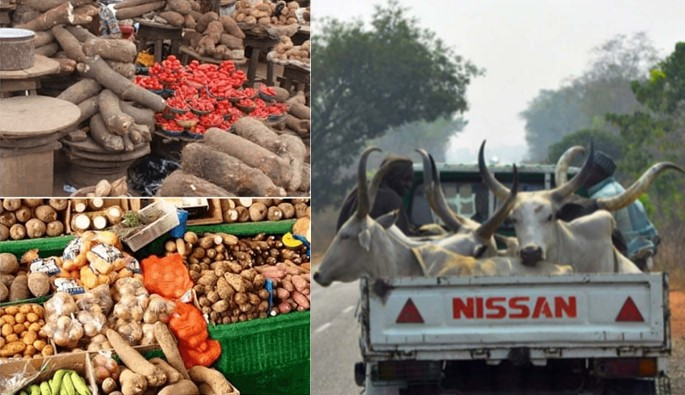 Food and cattle dealers threatens to stop exportation to the south